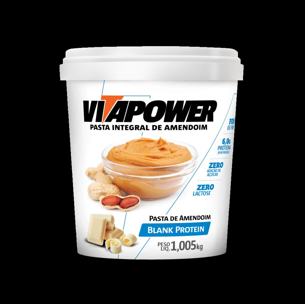 Pasta de Amendoin VitaPower Blank Protein