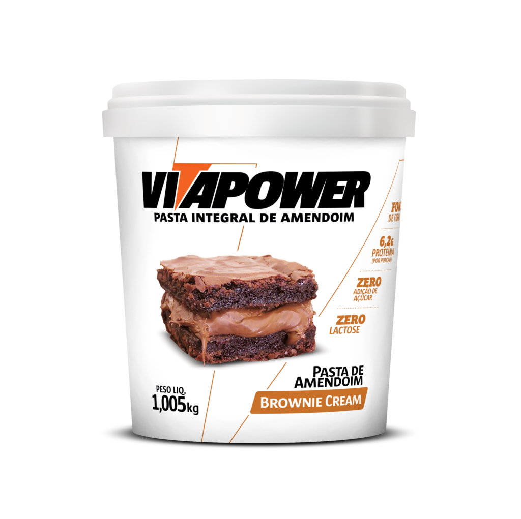 Pasta integral sabor brownie cream VitaPower