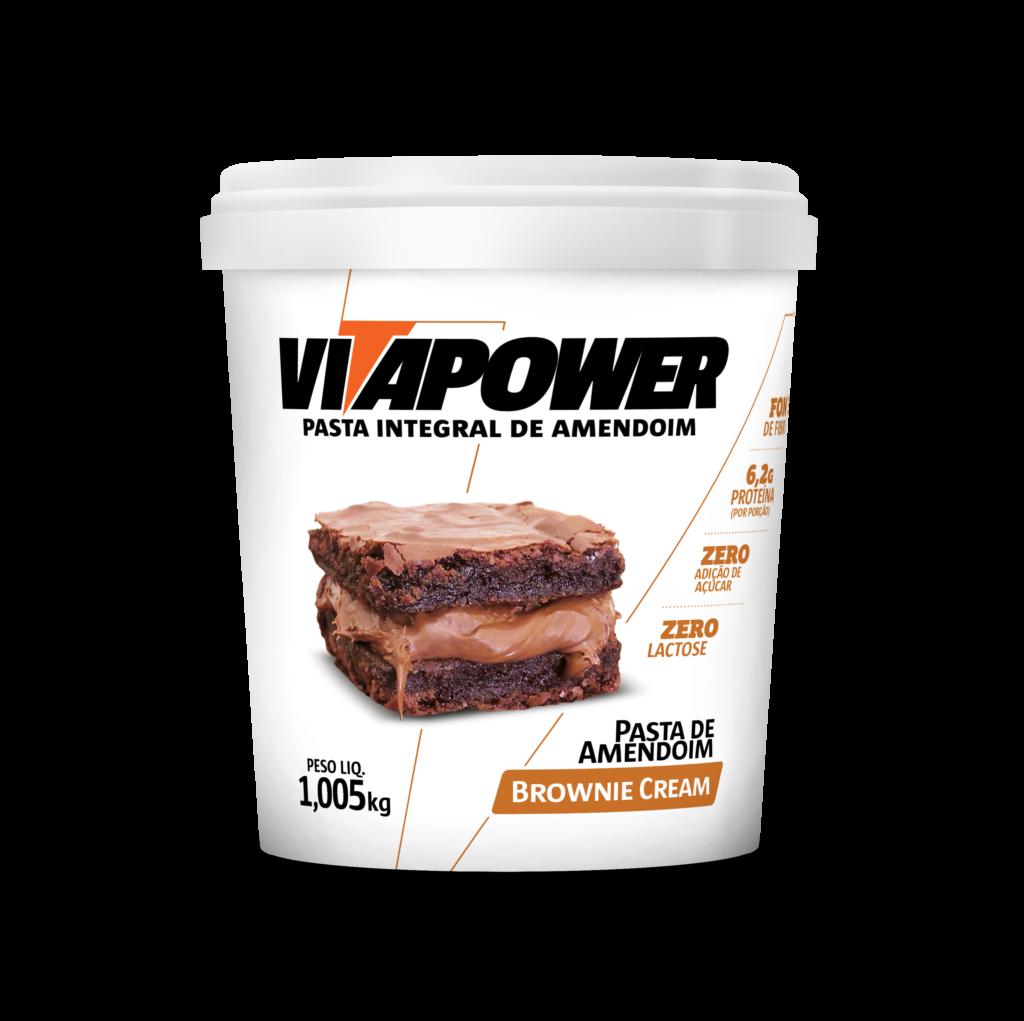Pasta integral sabor brownie cream VitaPower