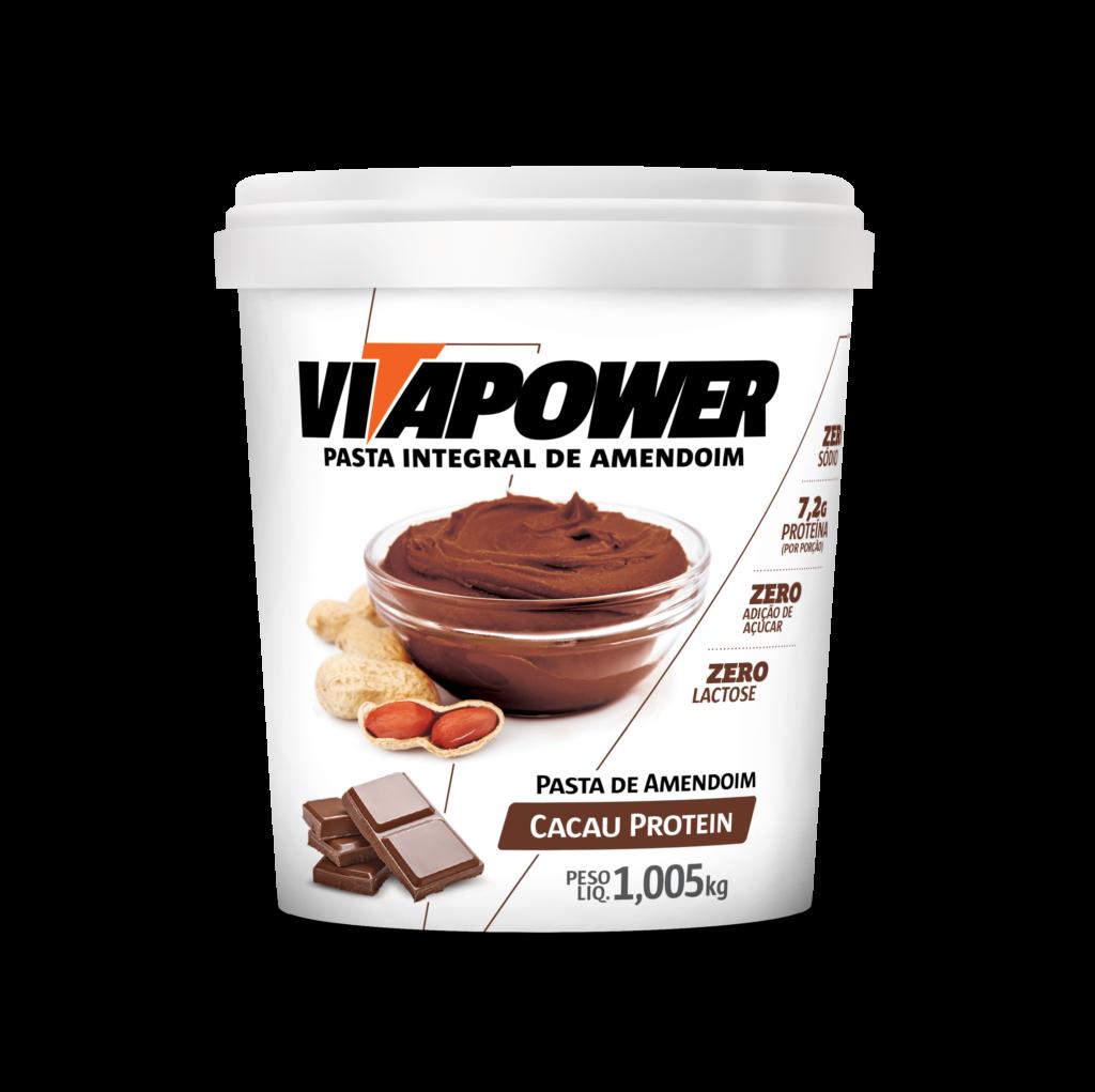 Pasta de Amendoin VitaPower Cacau Protein