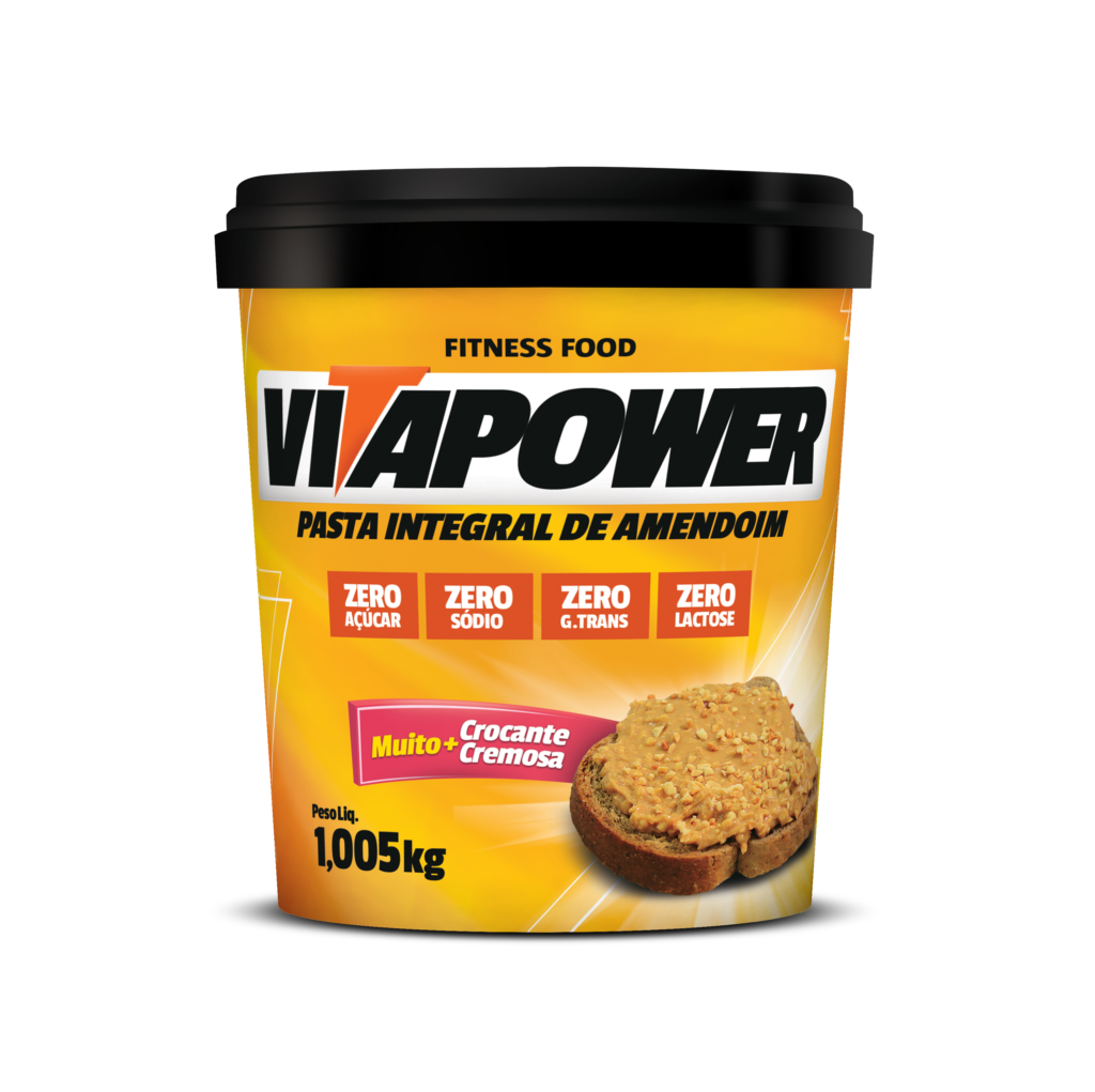 Pasta de Amendoin Integral VitaPower