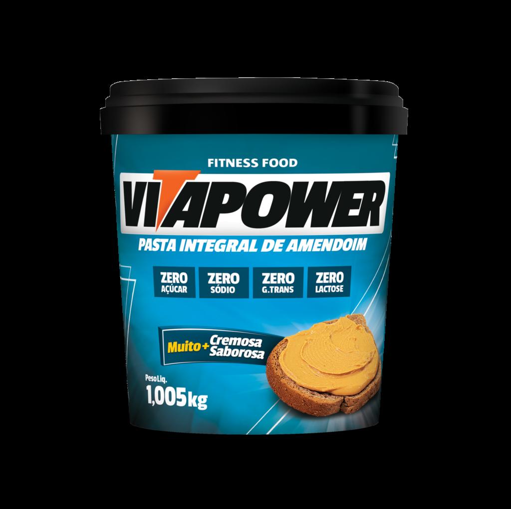 Pasta de Amendoin Integral VitaPower