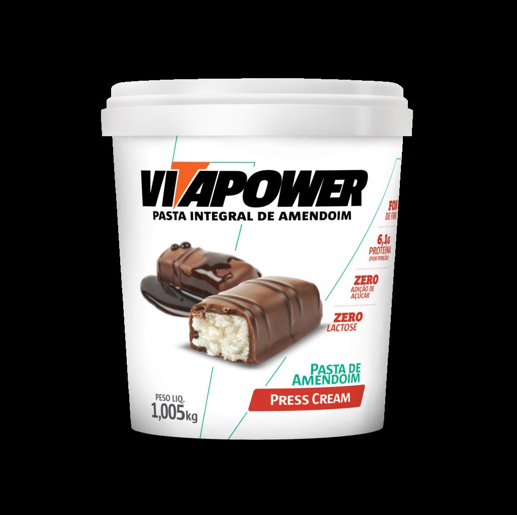 Pasta integral sabor Press Cream VitaPower